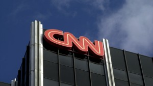 384757 02: The Cable News Network (CNN) logo adorns the top of CNN's offices on the Sunset Strip, January 24, 2000 in Hollywood, CA. CNN was hit with job cuts earlier this week after CNN's parent company, Time-Warner, Inc., completed its merger with America Online, Inc. (Photo by David McNew/Newsmakers)