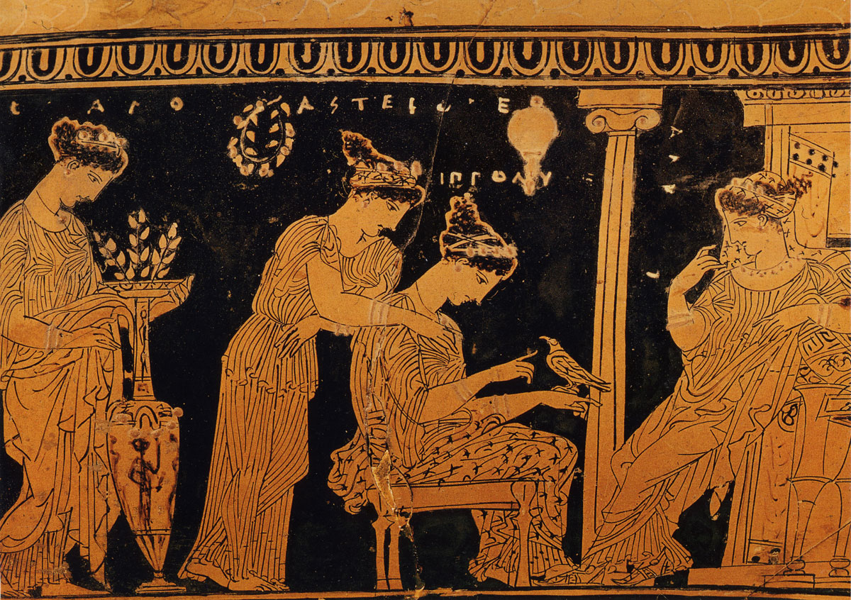 the roles of women in greek history Women have been and continue to be integral to the institution of art, but despite being engaged with the art world in every way, many women artists have found opposition in the traditional narrative of art history.