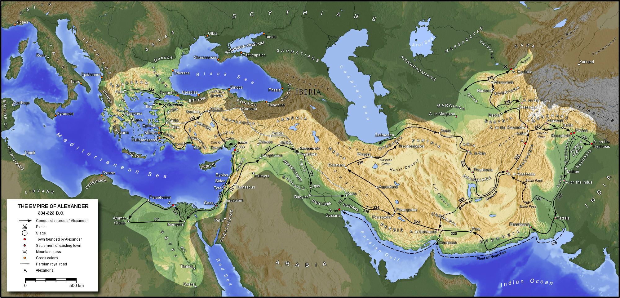 alexander the great empire boundaries in dating