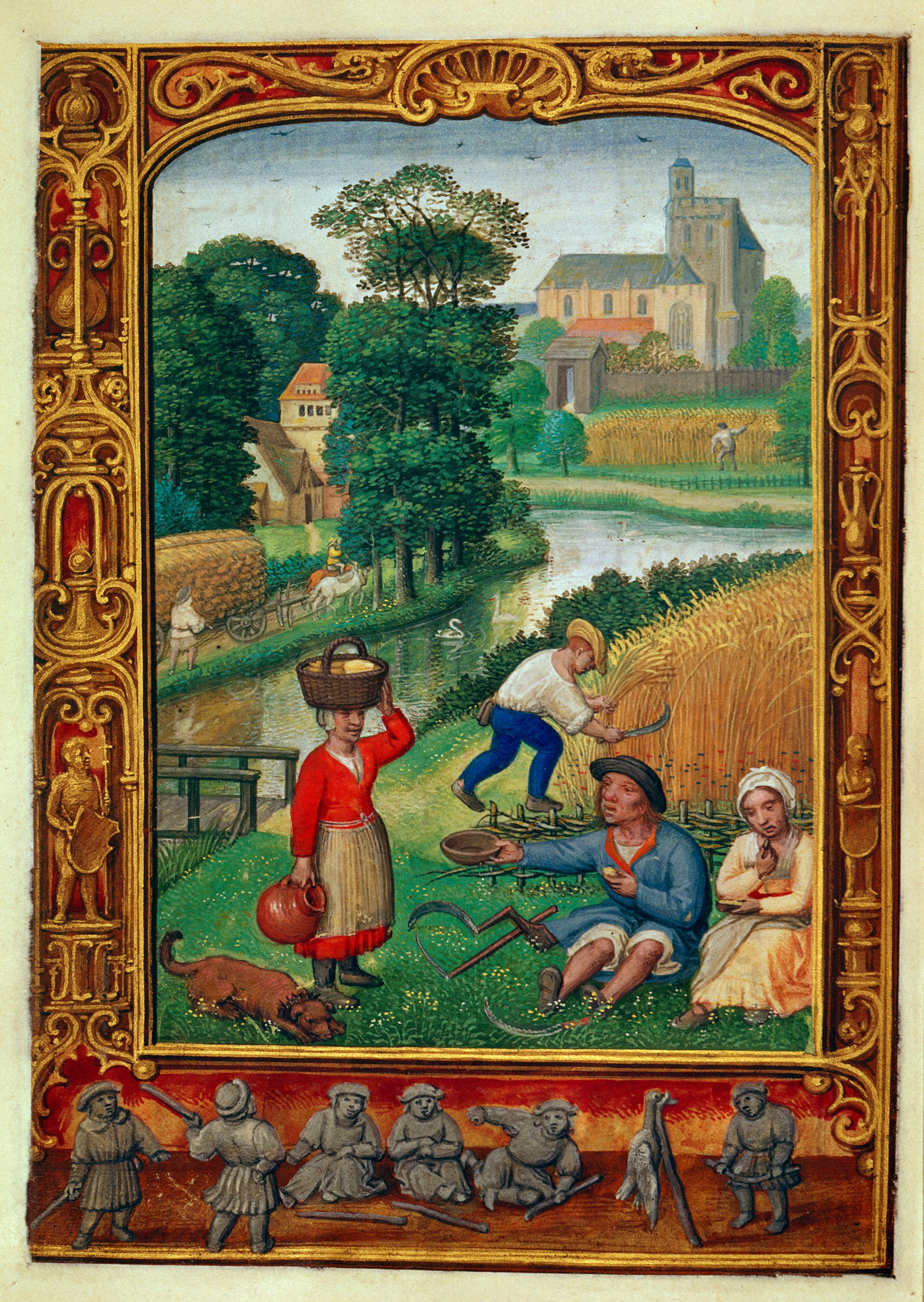 peasants in the middle ages During the middle ages (medieval times) the lives of villagers (serfs) were far from easy hard work and continuous effort – required to ensure the necessities of life – characterised most aspects of their existence.