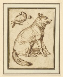 A Wolf and Two Doves