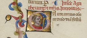 Initial G: Saint Agatha