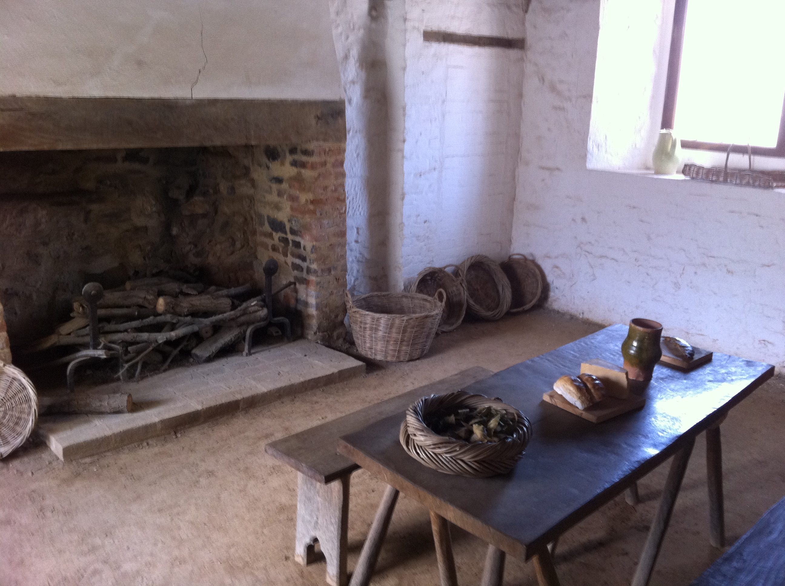 On the medieval kitchen