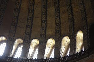 Windows, Rim of Dome, Hagia Sophia