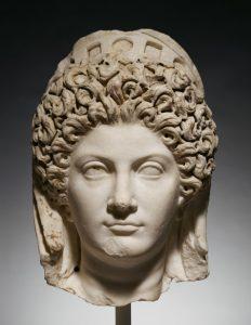 Portrait Head of Julia Titi