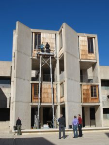 Salk Institute Teak Fenestration Conservation Program