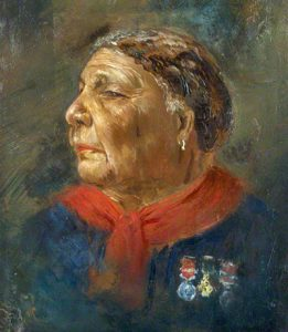 NPG 6856; Mary Jane Seacole (nÈe Grant) by Albert Charles Challen