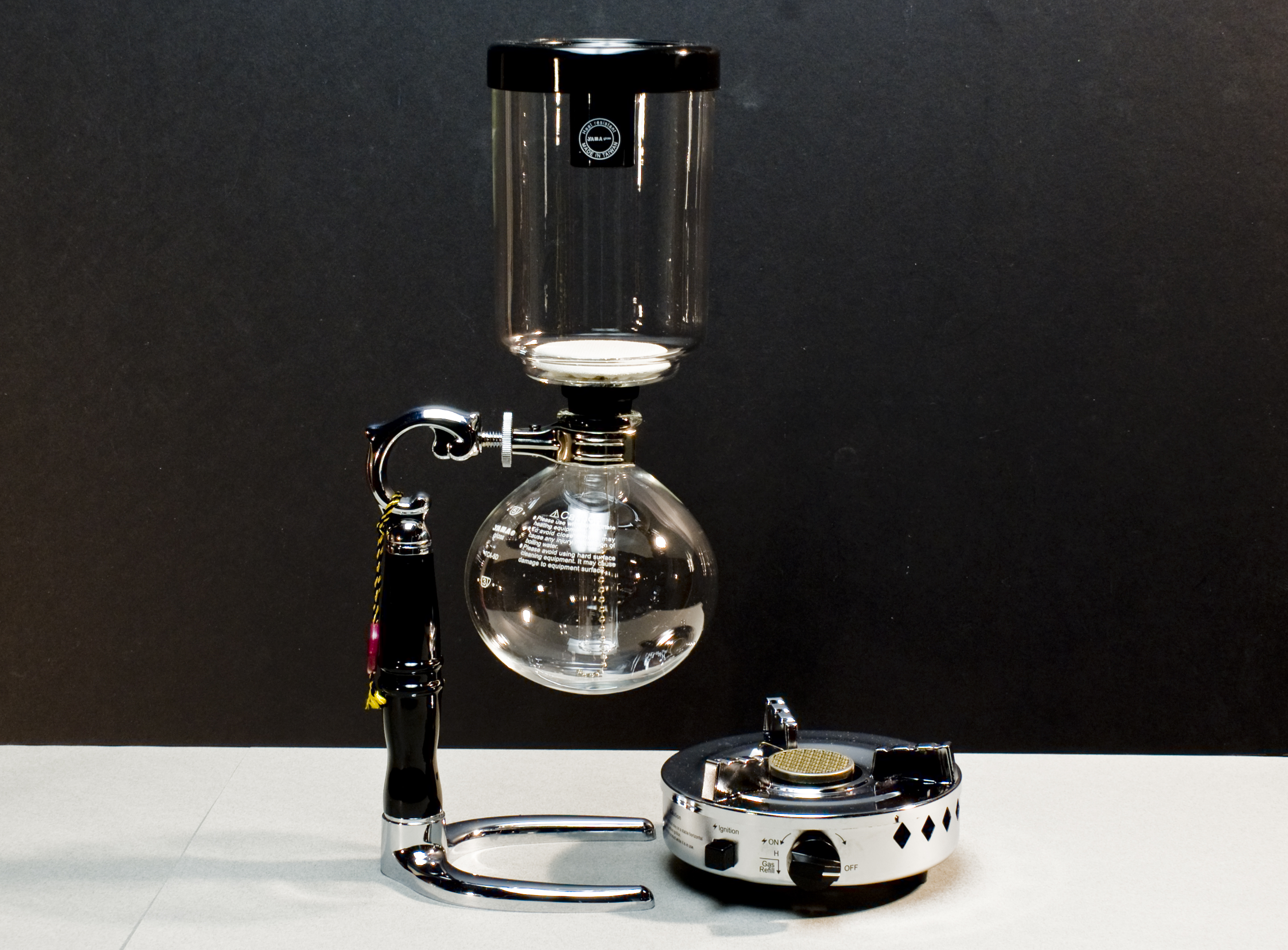 Using a siphon coffee maker How to make coffee with a coffee maker