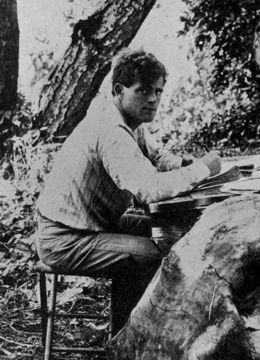 "jack london to his wife essay Which sentence best expresses jack london's point of view in his essay ""the human drift"" - 1262784."