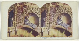 Catacomb of Cappuccini, Chapel of the Skulls, Rome, Italy.