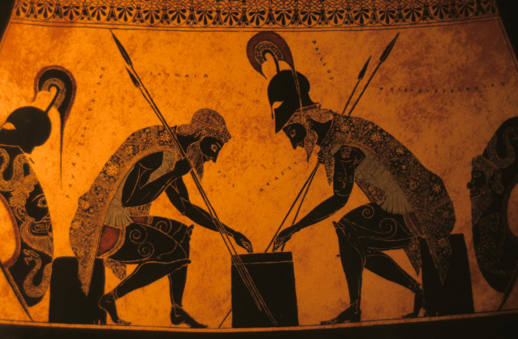 the greeks and achilles Why has the casting of david gyasi and hakeem kae-kazim as achilles and zeus proved so controversial accessibility links were some ancient greeks black.