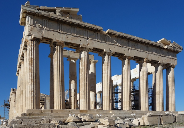 Iktinos And Kallikrates The Parthenon 447 432 BCE