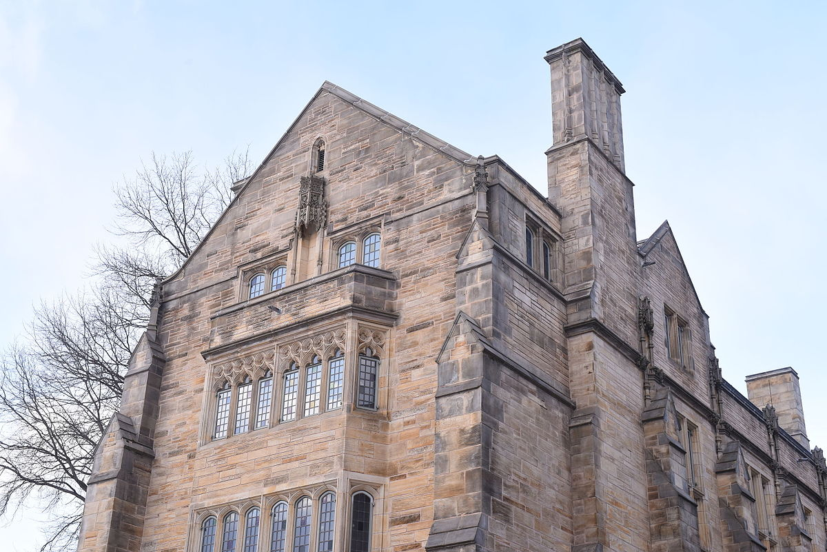Gothic Revival Architecture Adorns The Yale University Campus