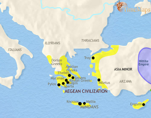 A timeline history of ancient greece sciox Image collections