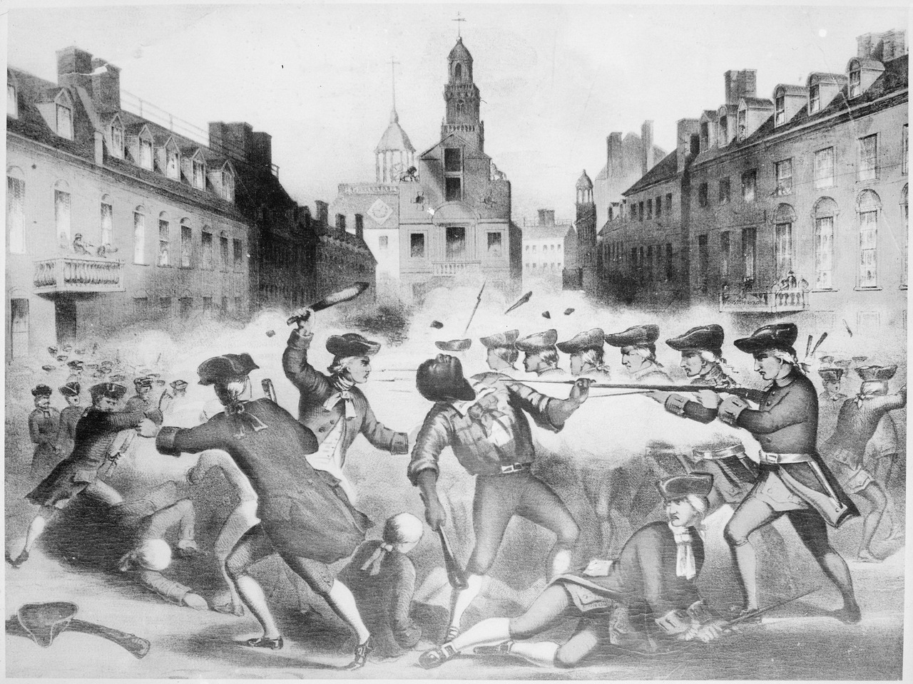 the colonists account of the boston massacre in 1770