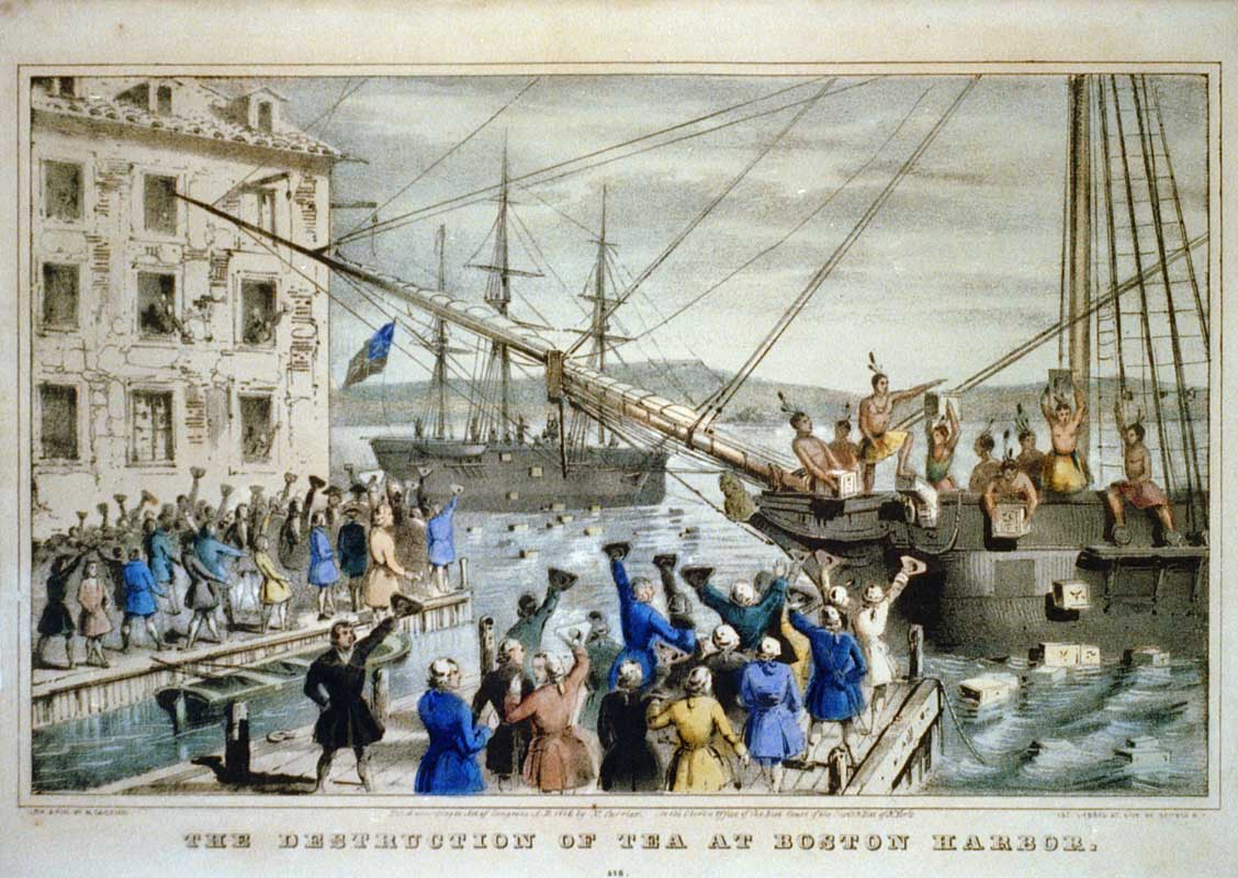 an interpretation of the tea act of 1773 On december 16, 1773, americans proved that they were not willing to be pushed around by a government that levied onerous taxes upon them, and this displeasure was expressed in the civil act of defiance known to us today as the boston tea party today's anti-tax minded americans calling themselves .