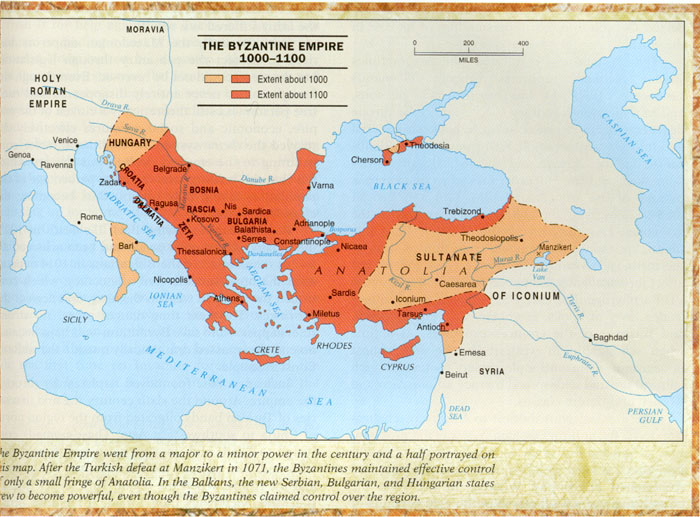 Byzantium The Continuation Of The Roman Empire In The East - Ancient rome map byzantium