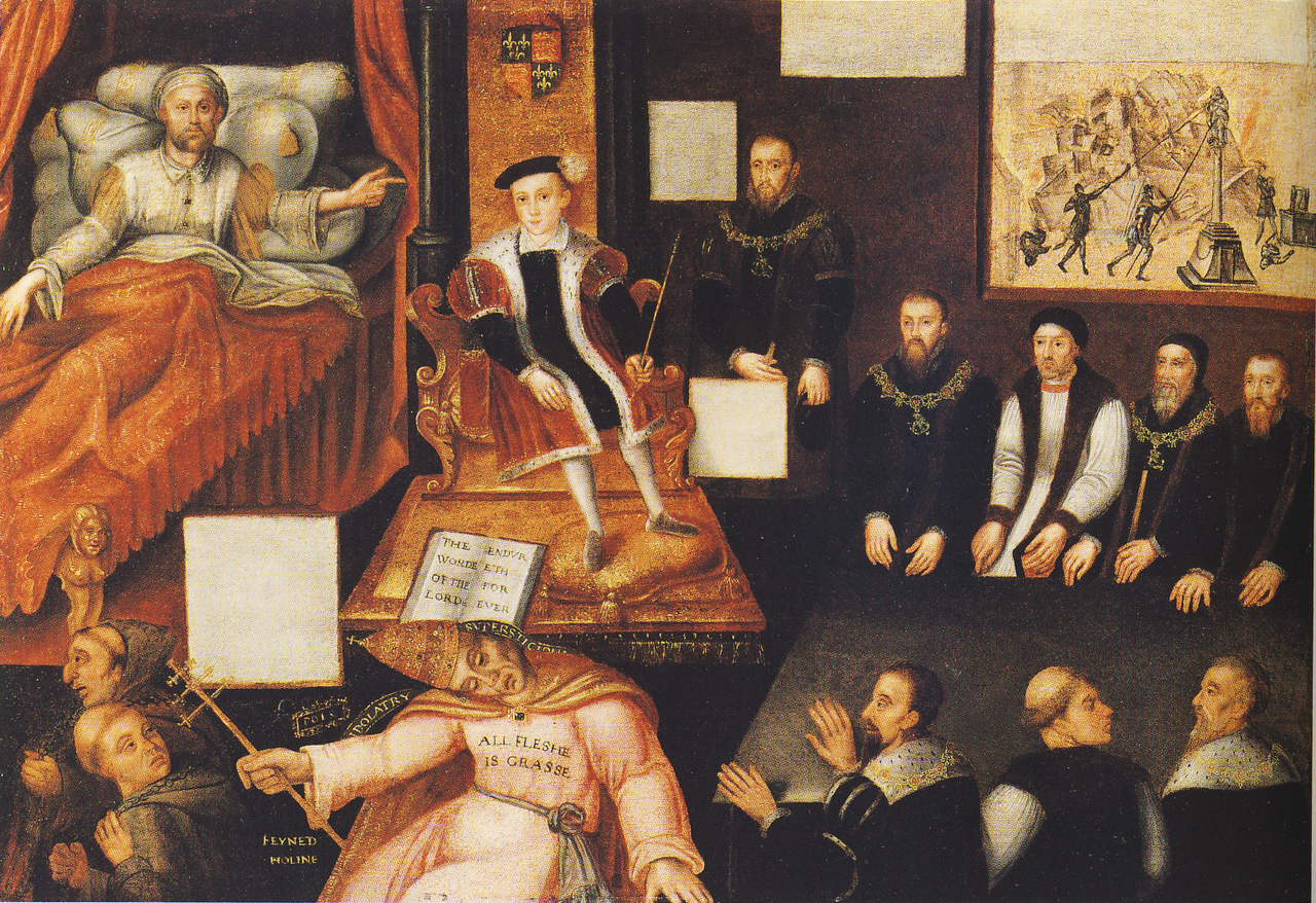 Edward VI - the first English Protestant king. short biography 96