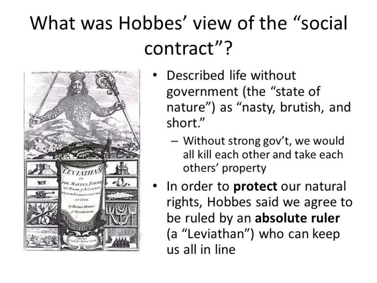 thomas hobbes social contract theory essay Start studying unit 5 essays learn vocabulary compare and contrast the political views of john locke and thomas hobbes both believed in a social contract.