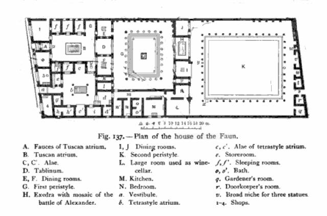 lifestyles of the roman rich and famous  houses and villas at pompeii