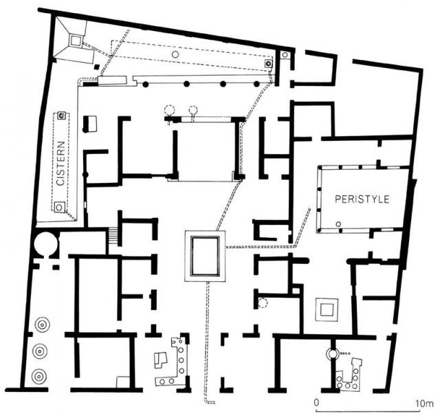 Ancient Pompeii House Plan Escortsea