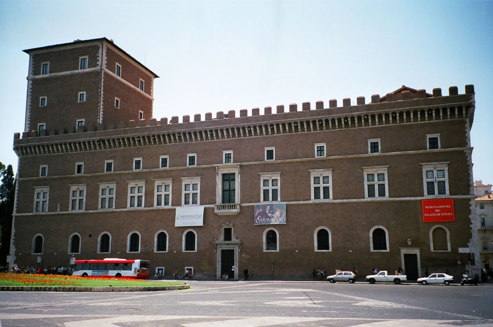 Building In Rome With Mussolini S Name