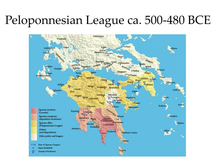 The GraecoPersian Wars Athens And Sparta Unite Against A Common - Map of the distance between athens sparta and the us