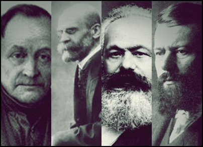 karl marx emile durkheim and max weber Turner examines the work of karl marx, max weber, karl mannheim, georg simmel, emile durkheim and talcott parsons to produce a rich and authoritative perspective on the classical tradition he argues that classical sociology has developed on many fronts, including debates on the family, religion, the city, social stratification, generations and .