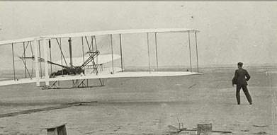 Wright brothers the fist plane nice girl