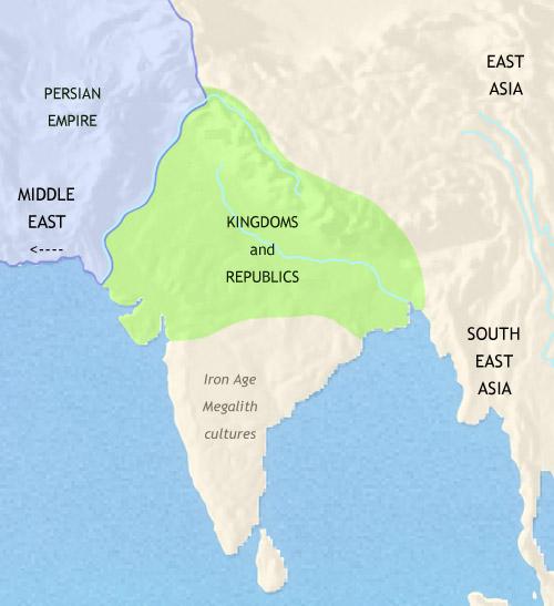 Spread Of Jainism Map Ancient India: Indus V...
