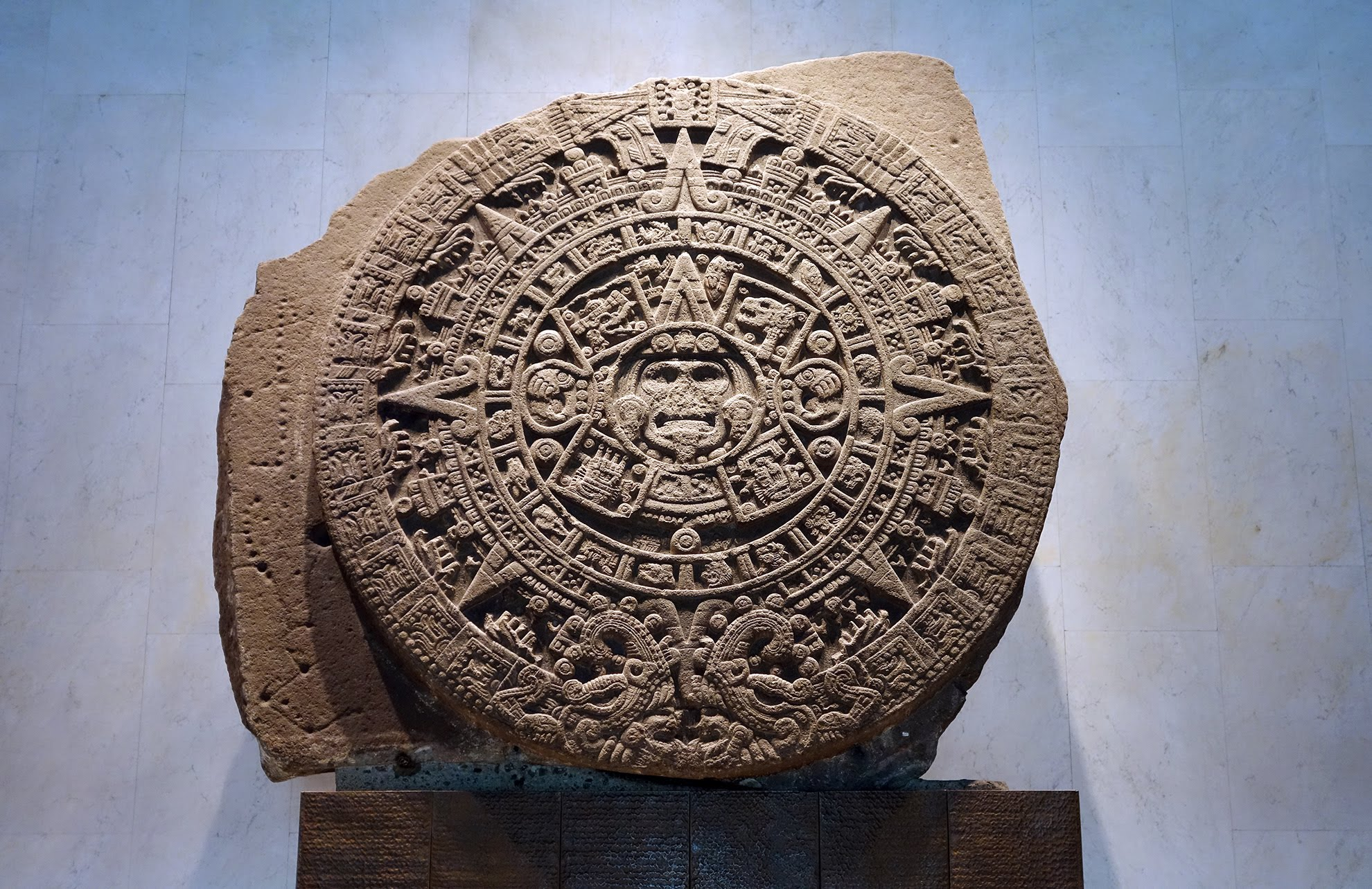 Calendar Stone Ap Art History : The aztec pantheon and calendar systems