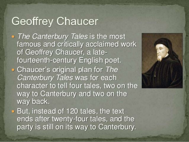 an analysis of the pardoners tale in the canterbury tales by geoffrey chaucer The role of the jews in chaucer's pardoner's prologue and tale extends well beyond the few direct mentions of them a focus on representations of through this analysis, i show how anti-judaism both permeates and shapes chaucer depiction of the pardoner and the pardoner's tale keywords: geoffrey.