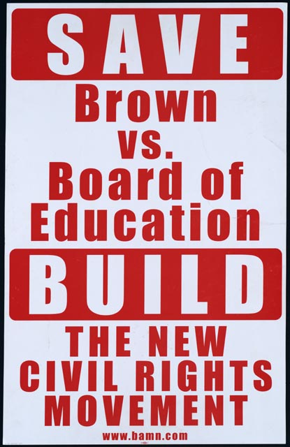 two cheers for brown v board of education The brown vs the board of education case had a big impact on many other similar cases as mr brown's and on history itself this case cased many people to see that the separation between educations was useless and did not help the children's education.