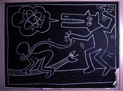 Keith Haring, 'Subway Drawings'