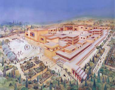 minoan palaces At 14 i knew this map of the great minoan palace at knossos by heart and could have told you the names that evans gave to every room i was fascinated by the strange connections between this ruin and the myth of the labyrinth, by the way storytellers had turned the real stone ruin.