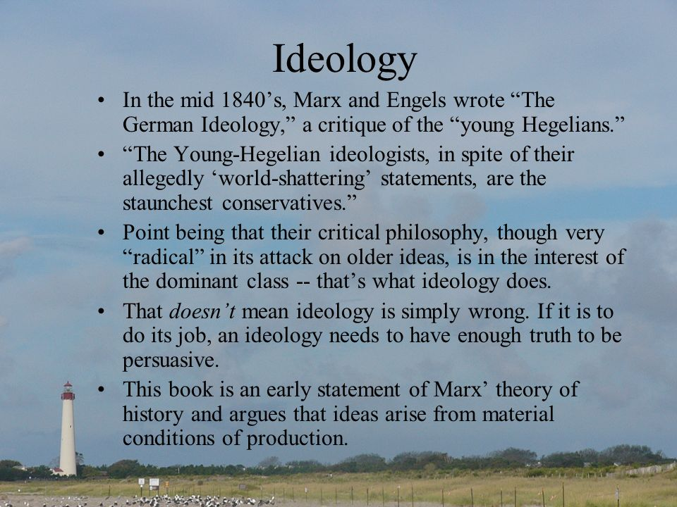 marxism dominant ideology thesis Dominant ideology thesis - oi - oxford index home many sociologists question the importance which has been attached to the role of a dominant ideology in recent accounts of social order.