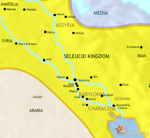 A brief history of ancient mesopotamian civilization 500bc 200bc gumiabroncs Image collections