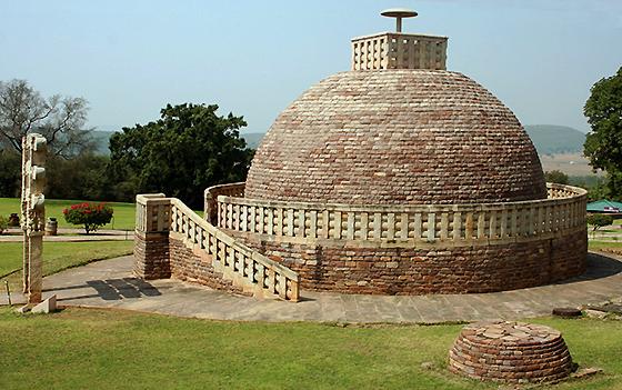 buddhist stupas and monasteries