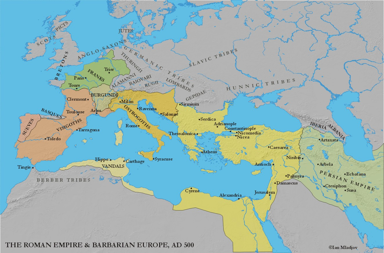 byzantine empire and western europe The byzantine empire continued on for 1000 years after the western roman empire, including rome, collapsed in 476 ce the byzantine empire ruled most of eastern and southern europe throughout the middle ages.