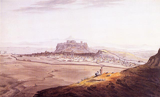 athens in the 19th century from regional town of the ottoman