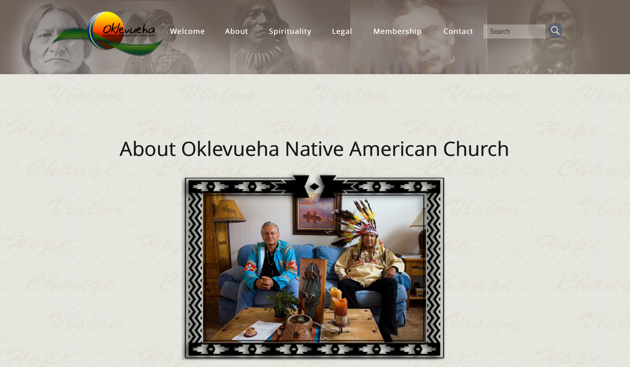 Pandoras brew the new ayahuasca screenshot from the onac about page pictured are oklevueha native american church leaders james flaming eagle mooney and richard he who has the fandeluxe Choice Image