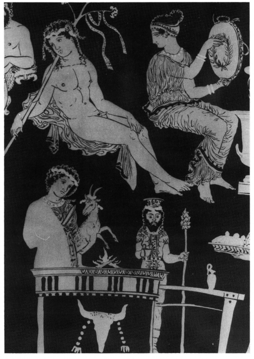 the representations of dionysian in bacchae The representations of dionysian in bacchae and art essay the representations of dionysian world in bacchae and art dionysus was the son of zeus, the king of the gods, and semele, the daughter of king cadmus of thebes, and he was the last god that became an olympian.
