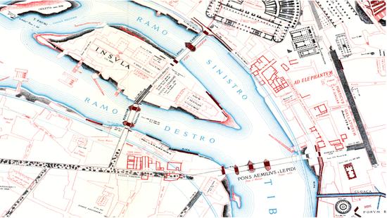 Pons Fabricius Romes Timeless Bridge - Ancient rome map tiber river