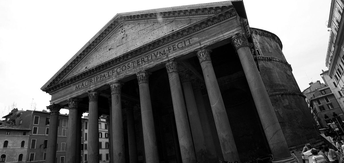 an analysis of the roman pantheon Roman pantheon the roman pantheon is the most preserved and influential building of ancient romeit is a roman temple dedicated to all the gods of pagan rome.
