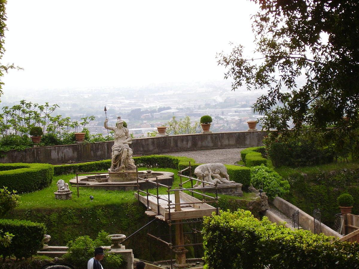 post roman italian renaissance gardens and the villa d este. Black Bedroom Furniture Sets. Home Design Ideas