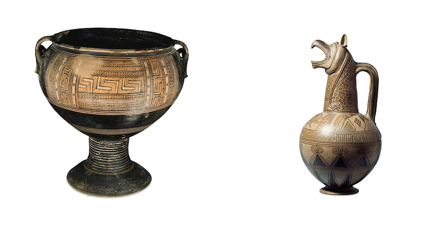 Sophilos A New Direction In Greek Pottery