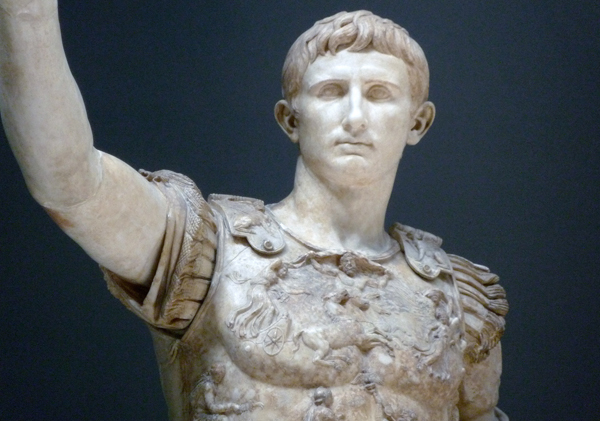 Augustus Of Primaporta Imperial Power In Imagery