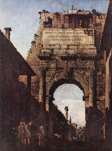 an introduction to the triumphal parade through the arch of titus in rome The best known menorah image survives on the arch of titus in rome  in titus's great triumphal parade in  symbol from ancient israel through.