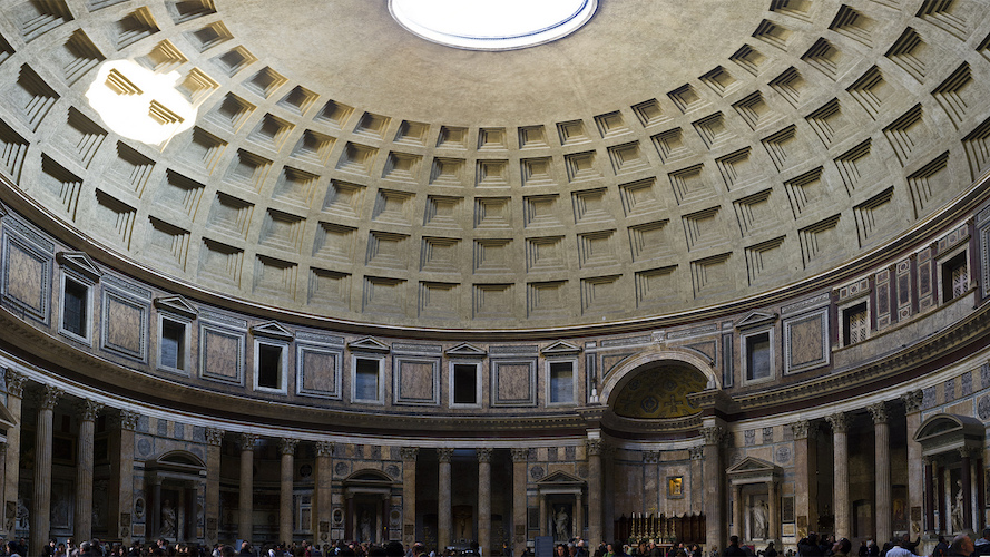 an overview of one of ancient romans finest architecture the pantheon In understanding greek and roman technology: the roman pantheon: the ancient world's by exploring one of the ancient world's finest examples.