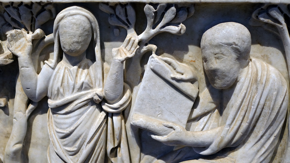 Blending Of Christian And Pagan Art In The Late Antique